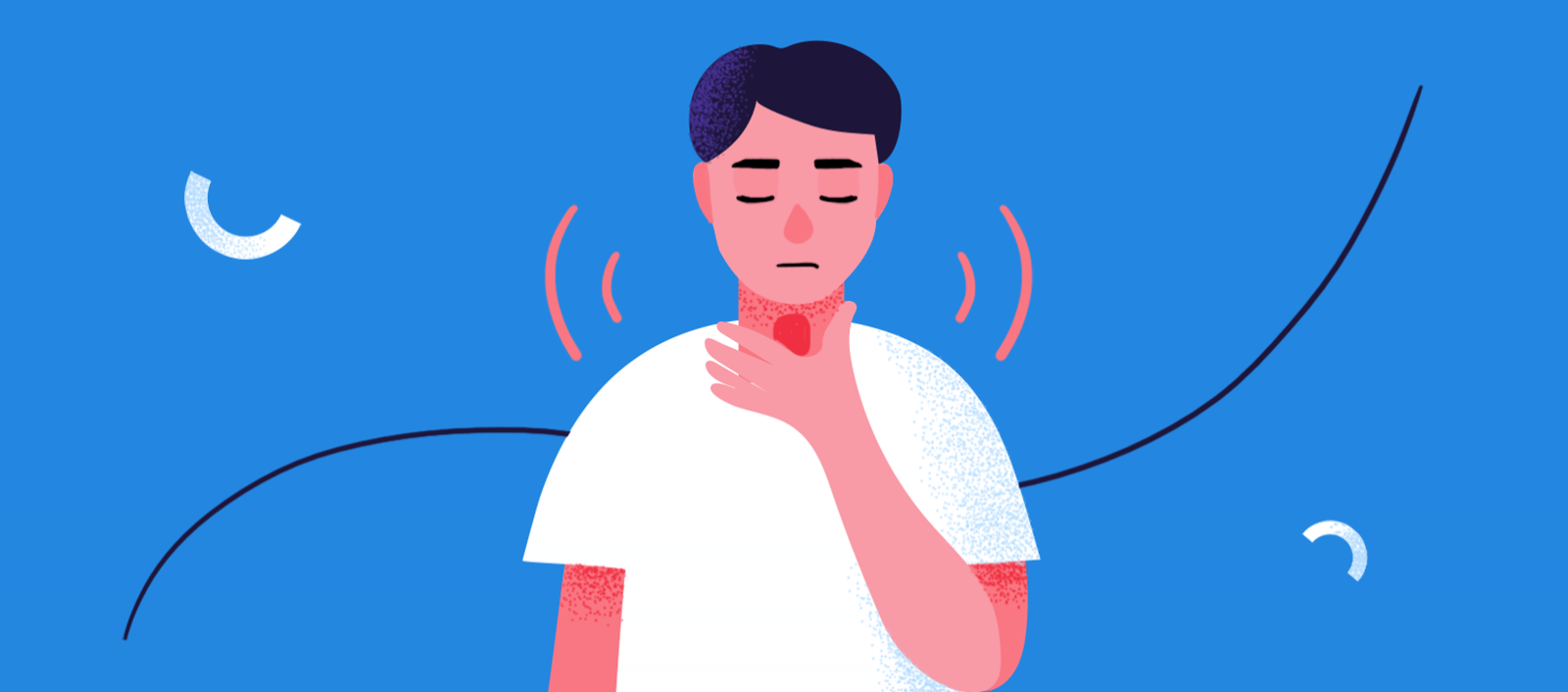 How Anxiety Causes Trouble Swallowing