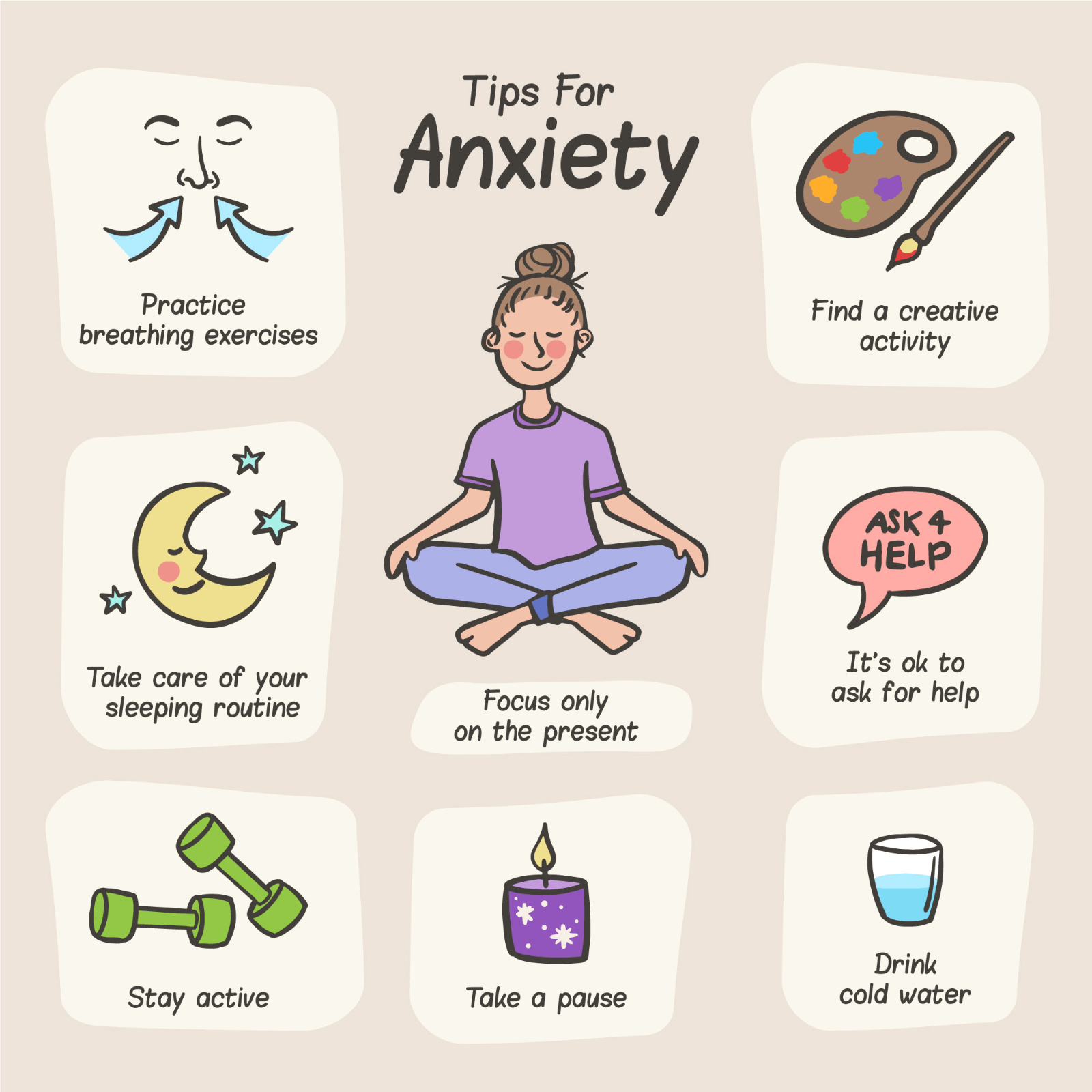 Here's How to Manage Anxiety