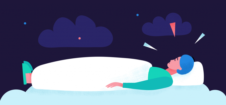 7 Steps to Stop Anxiety before Sleep